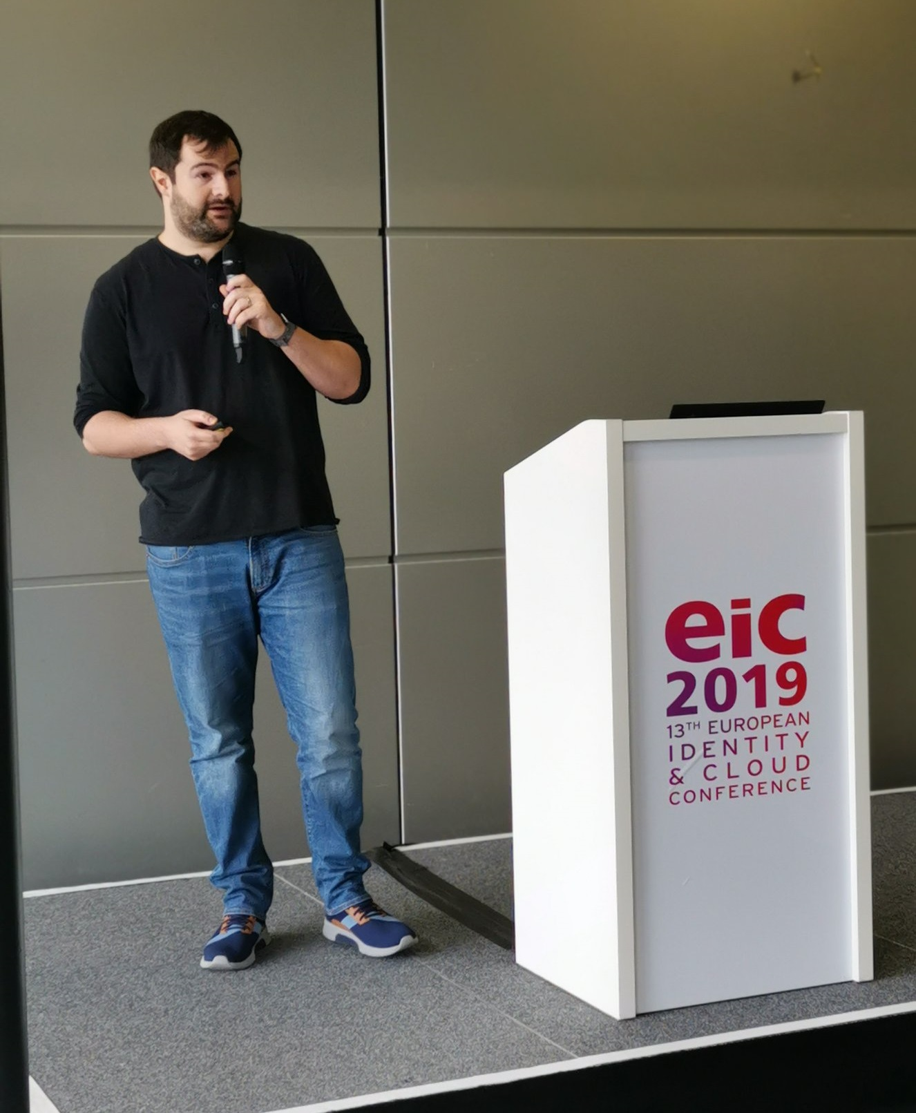 Scott Brady at the EIC conference in 2019