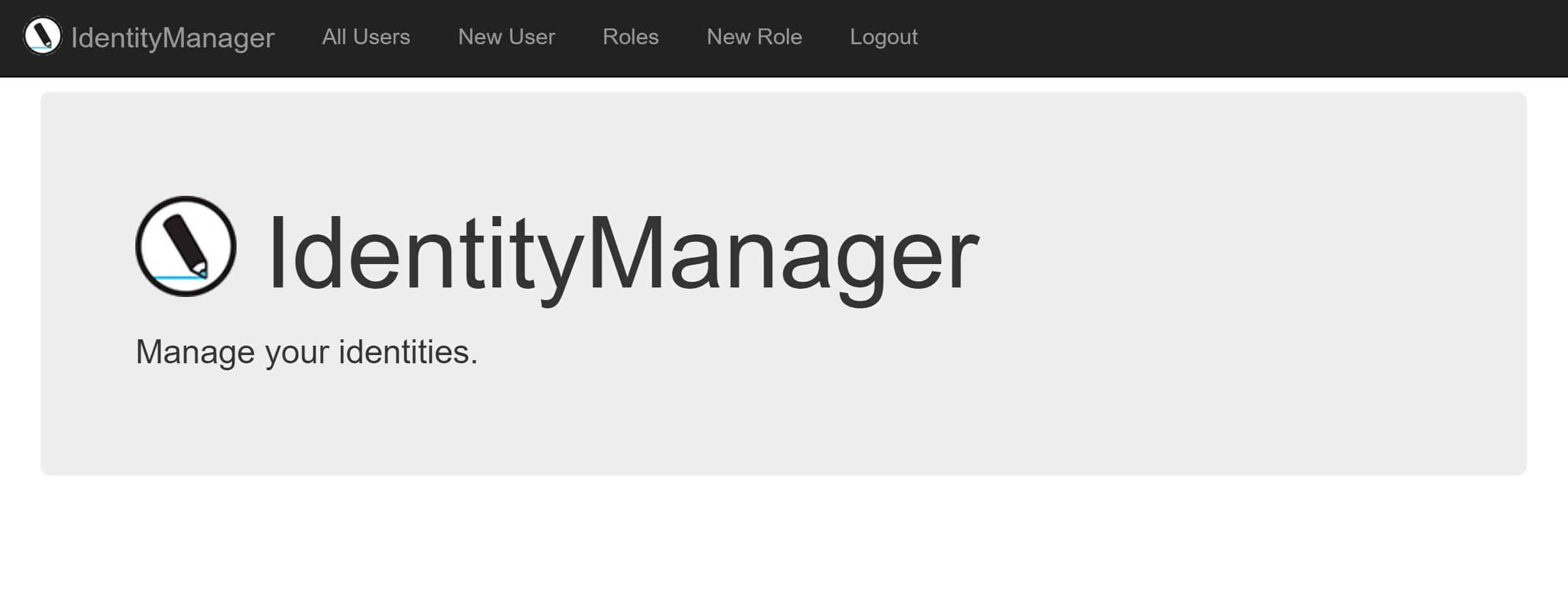 identity manager using asp identity - scott brady