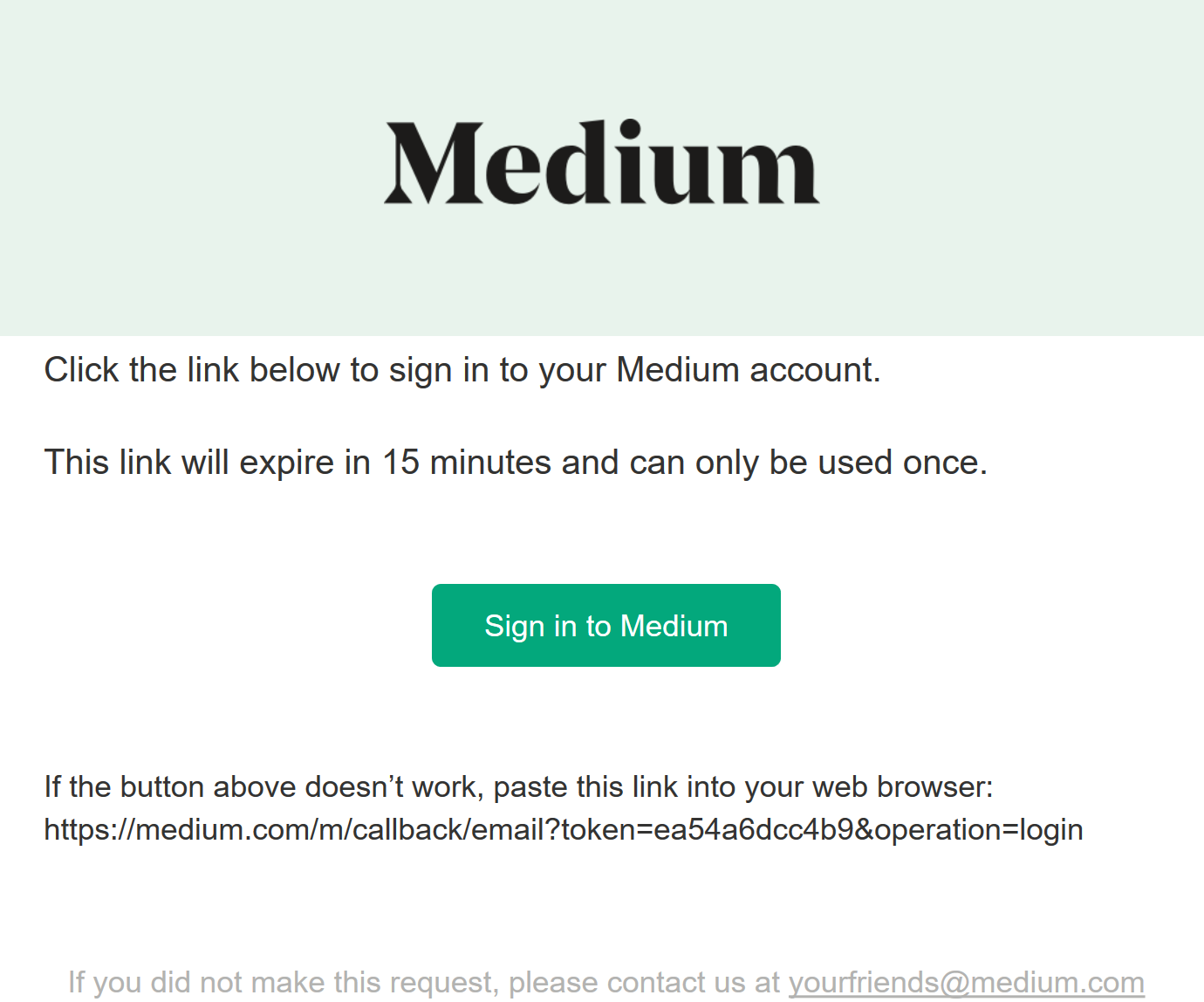 Implementing Medium's Passwordless Authentication using ASP