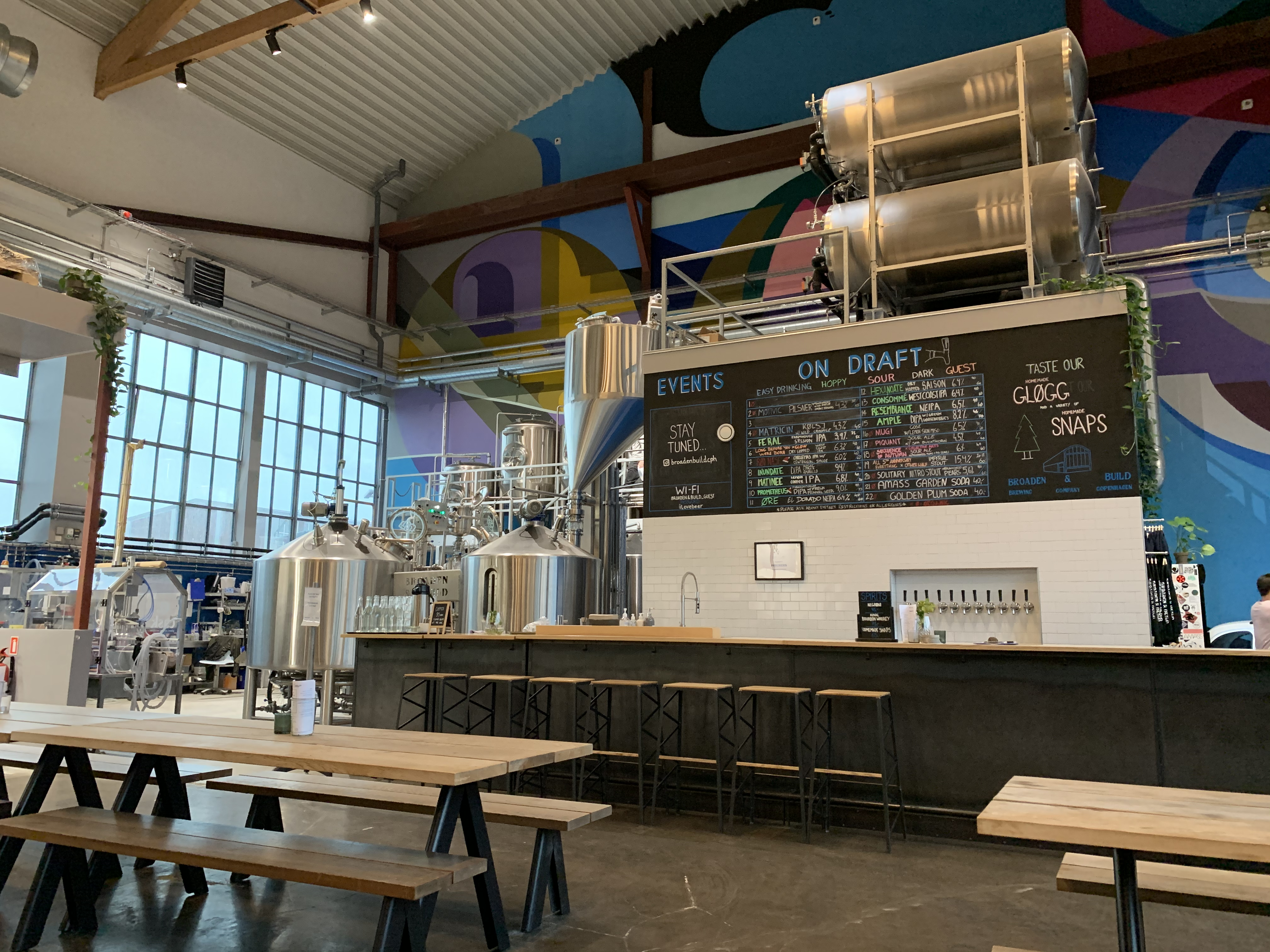 The Broaden & Build brewery in Copenhagen