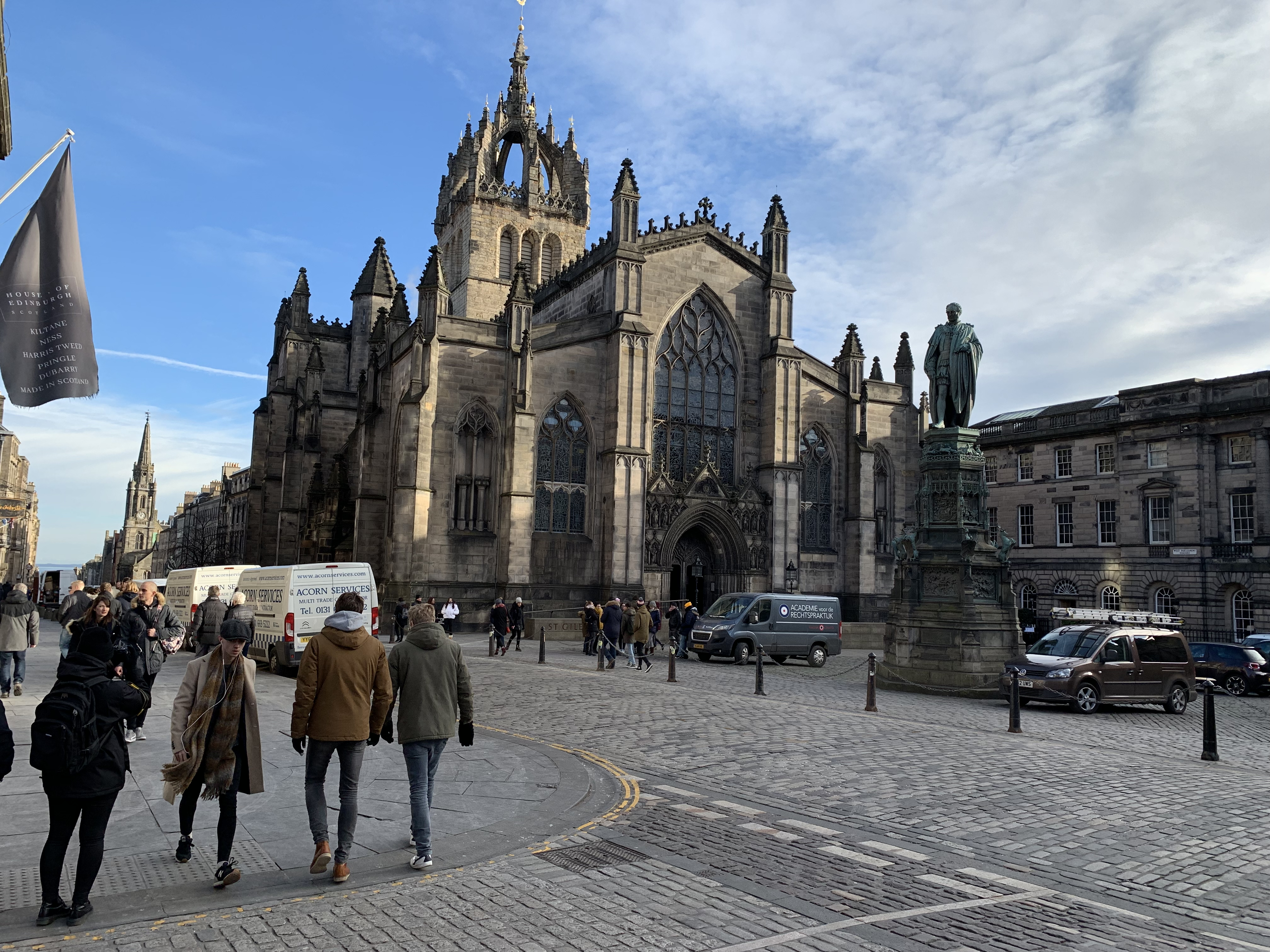 St. Giles Cathedral in Edingburgh
