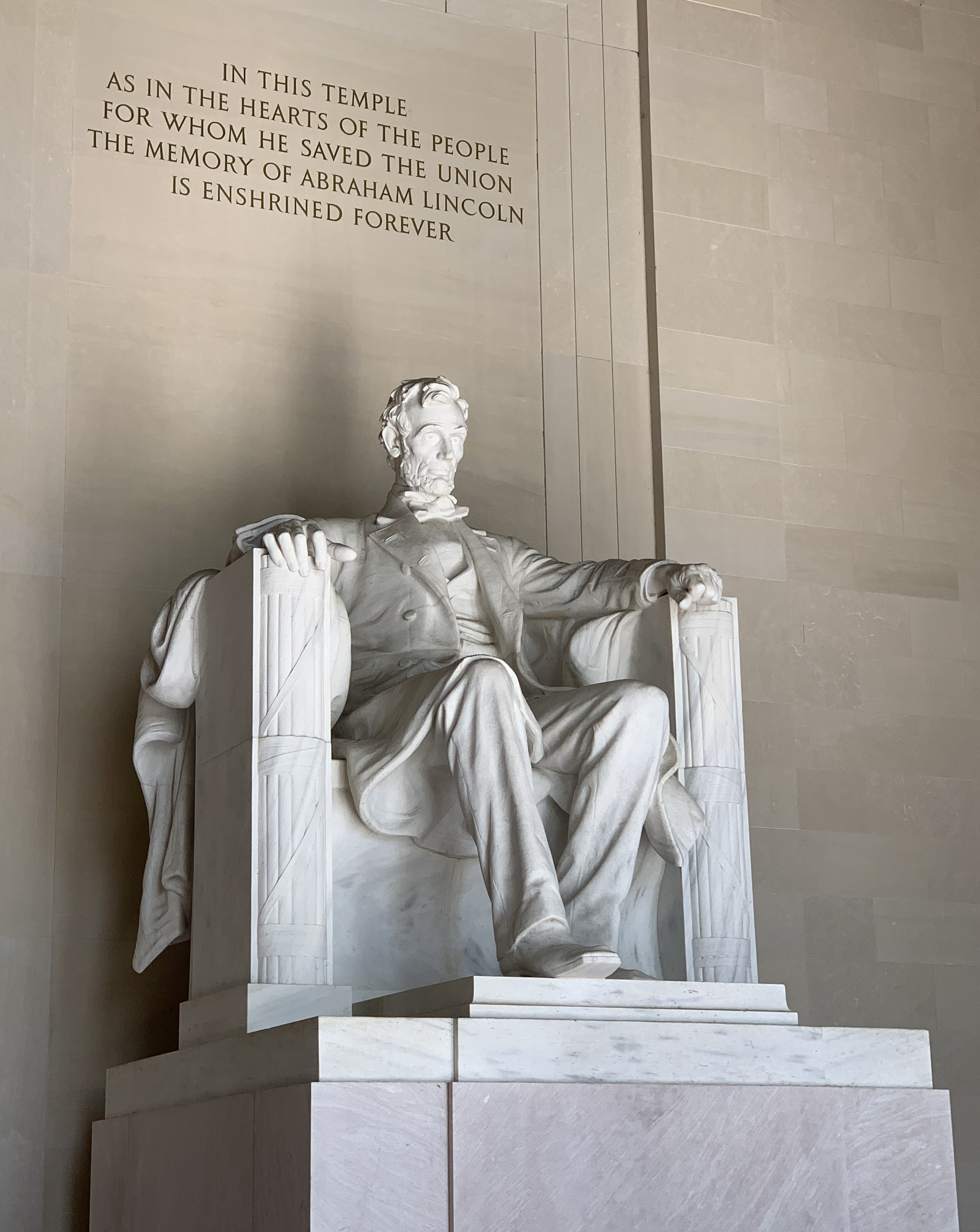 Lincoln Memorial at Washington DC