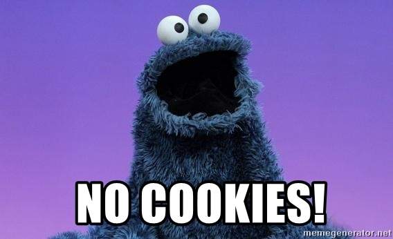 Nasty Cookie Monster